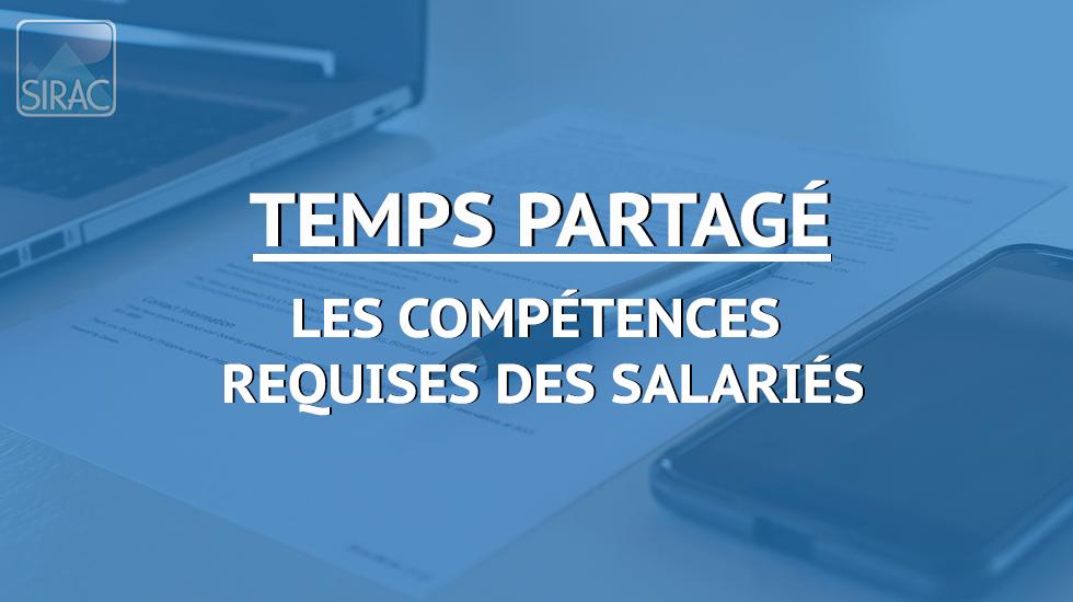 Temps partagé – Les compétences requises des salariés | SIRAC ETTP