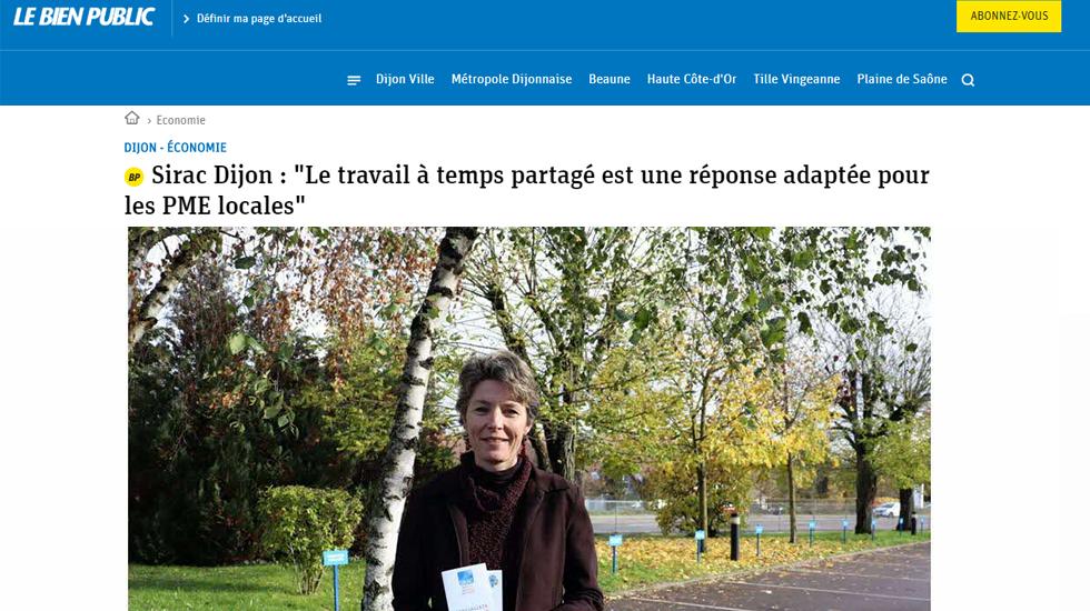 Sirac Dijon - Article LE BIEN PUBLIC | SIRAC ETTP