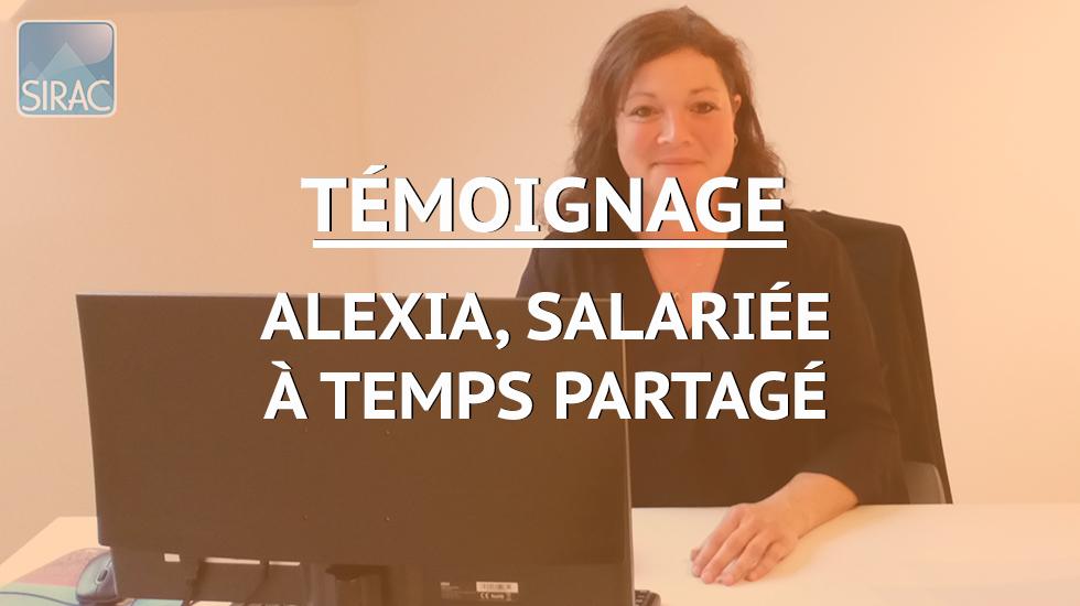 Alexia salariée à Temps Partagé - Témoignage | SIRAC ETTP